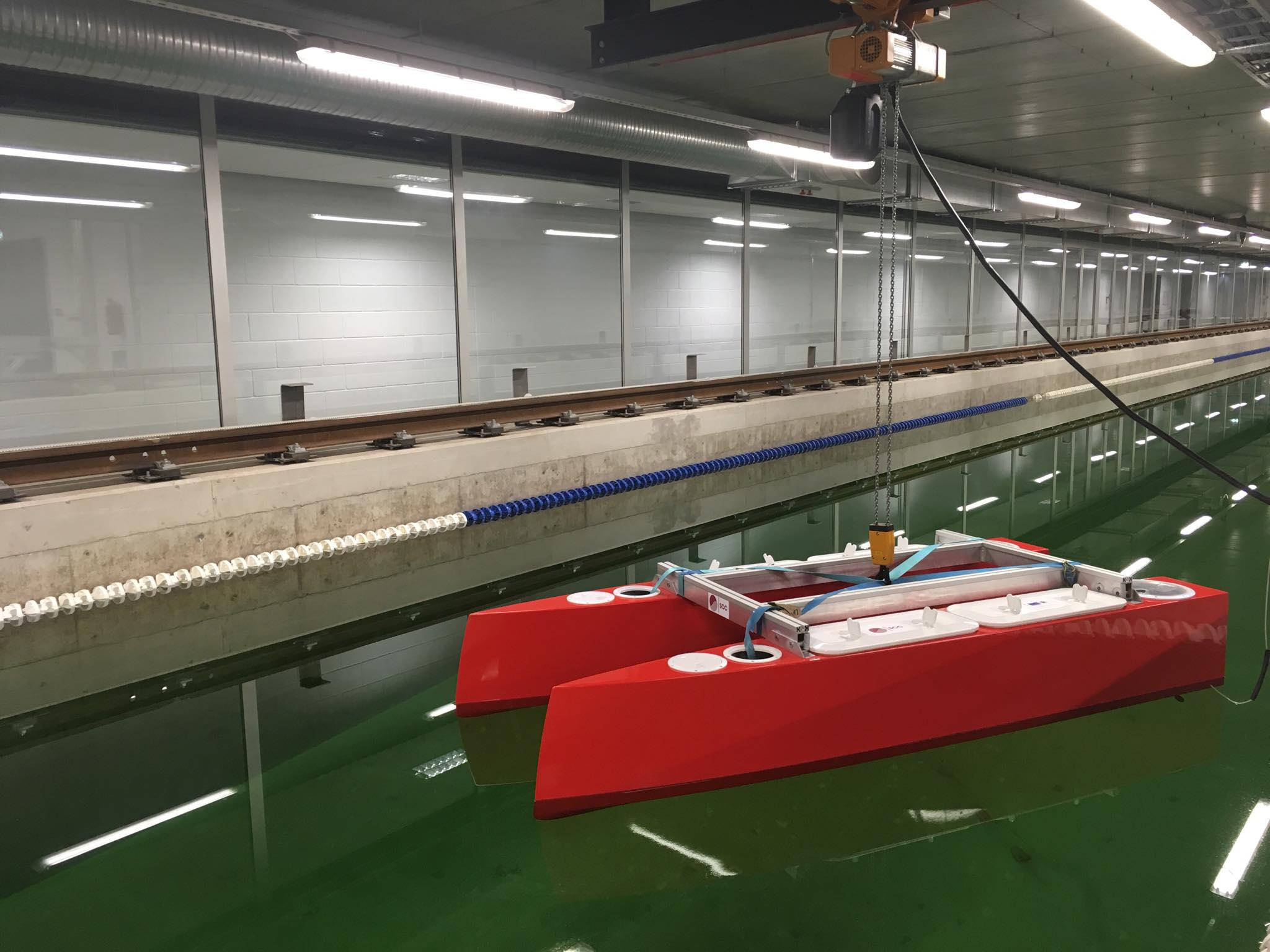 ASV Platform and Manoeuvring Test Development 2018-2019